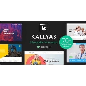 Kallyas - Motyw Premium WordPress. Licencja.