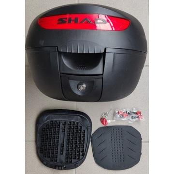 Kufer centralny SHAD SH26 czarny + płyta