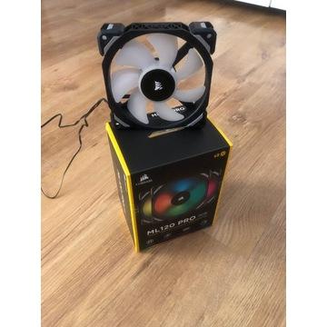 Corsair ML120 PRO RGB 3-pack + Lighting Node PRO