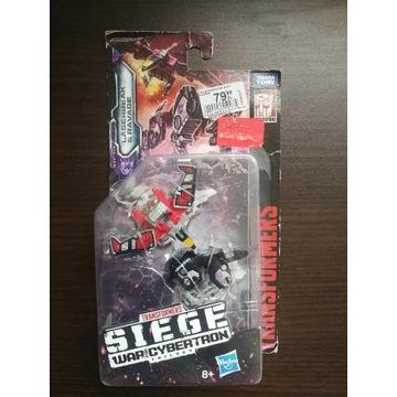 Transformers WFC Siege Laserbeak and Ravage, nowy