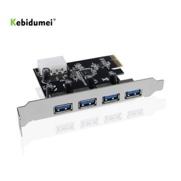 4-port USB 3.0 PCI-e karta rozszerzeń