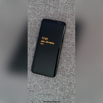 Samsung Galaxy s8 Midnight black 64gb.