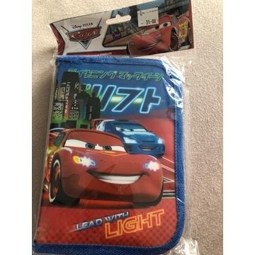 Piórnik Cars Disney, z wyposażeniem NOWY