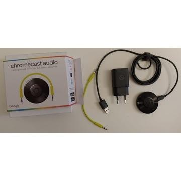Google Chromecasat Audio transmiter dźwięku