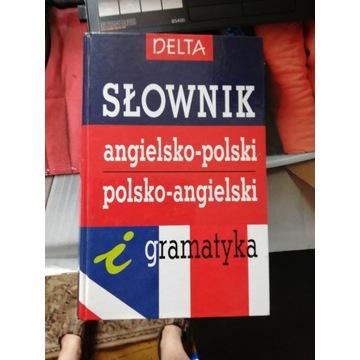 Uniwesalny Słownik Ang.-Polski +gramatyka