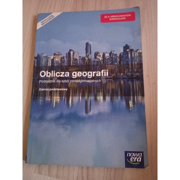 Książka do szkoły z geografii
