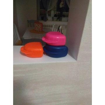 Pudełko na aparat ortodontyczny kolor pomarańcz