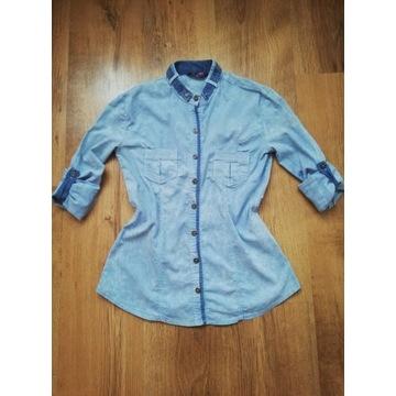 Bluzka błękitna 34/XS