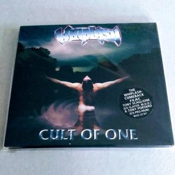 """WHIPLASH - """"Cult of One"""" CD DigiPack"""