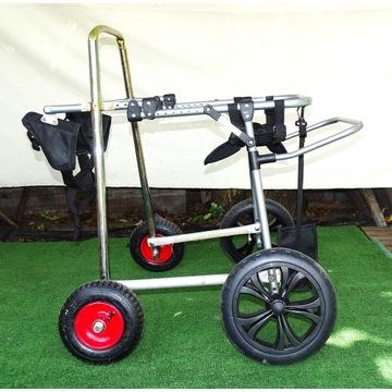 Wózek inwalidzki dla psa ze wzmocnieniem