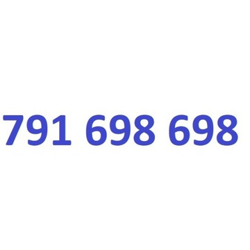 791 698 698 starter play złoty numer