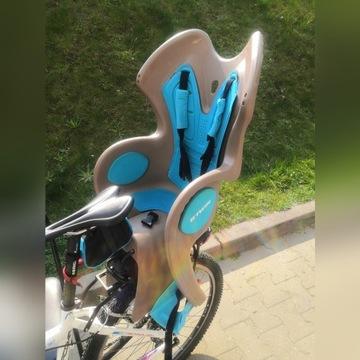 Fotelik rowerowy B'Twin B'Clip Decathlon bagażnik
