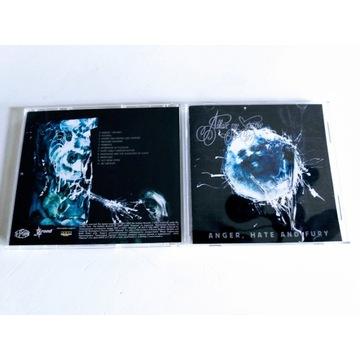 "ABLAZE MY SORROW - ""Anger, Hate And Fury""  CD"