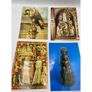 Zestaw 12 szt. pocztówek z sztuką sakralną
