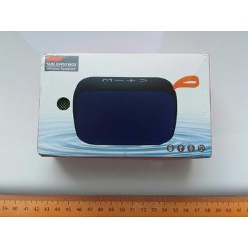 Głośnik przenośny BT, FM, microSD, USB, 12cm x 8cm