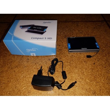Compact 5 HD – lupa elektroniczna