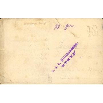 1916 - cenz.Stryj - kamuflażowy st.okręg. IX-777