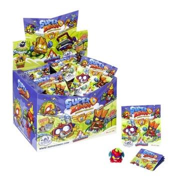 SUPER ZINGS SERIA 5 BOX 50 szt FIGURKA SASZETKA