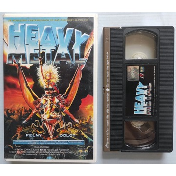 Heavy metal. Kaseta VHS ITI Home Video