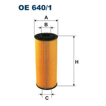 FILTR POWIETRZA FILTRON OE 640/1
