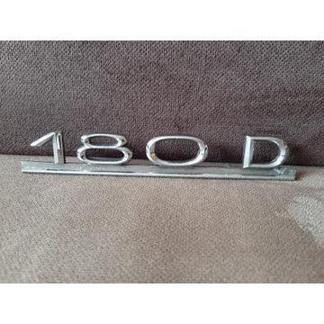 Znak na tylną klapę  Mercedes ponton W120 180D .
