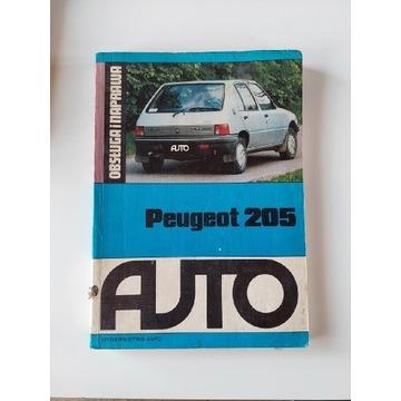 Ksiazka Peugeot 205 obsługa i naprawa