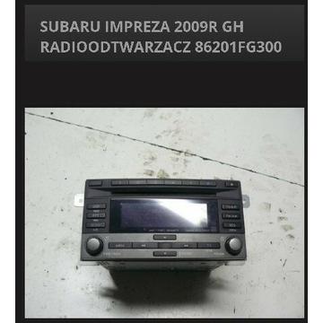 Radio Subaru impreza 2009 r