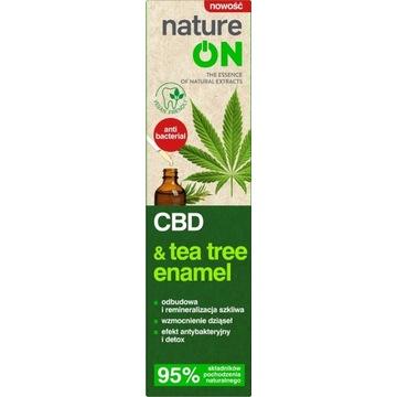 NATUREON CBD & Tea Tree Enamel pasta do zębów 100