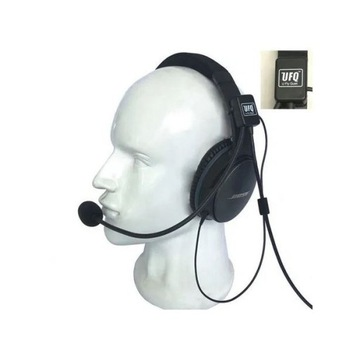 Słuchawki lotnicze - GA UFQ AV mike 2