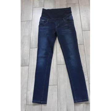 Spodnie ciążowe jeansy  r.38 M