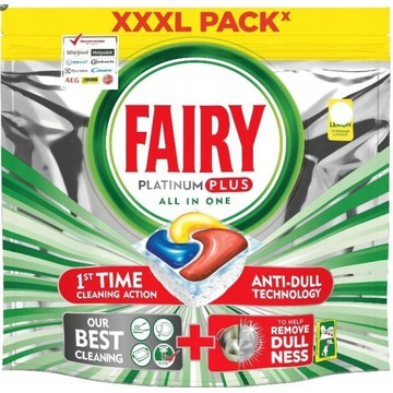 kapsułki fairy 105 sztuk do zmywarki