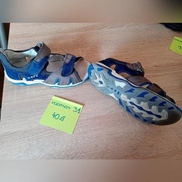 Sandały chłopięce Bartek rozmiar 31