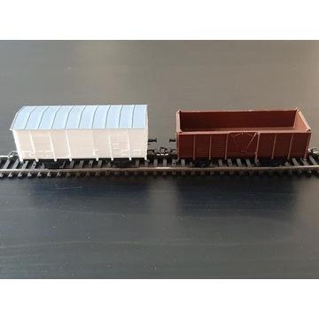 Wagony towarowe PIKO H0 w idealnym stanie bcm
