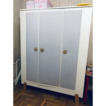 Szafa 3-drzwiowa Iga Pinio stan bdb, biała