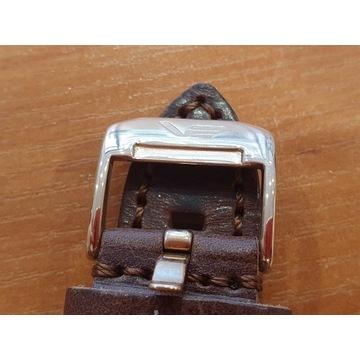 Oryginalny pasek VOSTOCK 22mm brązowy