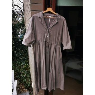 Klasyczna włoska uniwersalna sukienka NOWA