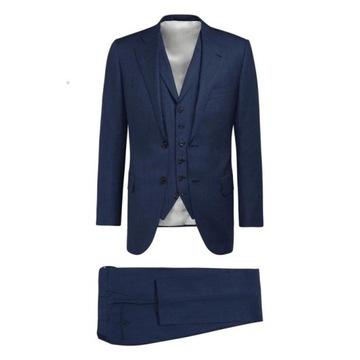 Nowy Garnitur SuitSupply 3 częściowy r. 46 Wesele