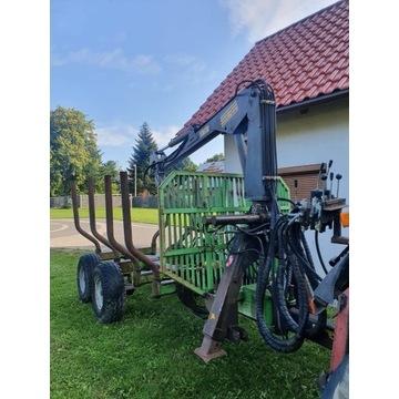 Przyczepa leśna/wózek zrywkowy
