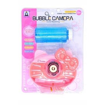 Bubble Maker Camera Zabawka Bańki Mydlane Automat
