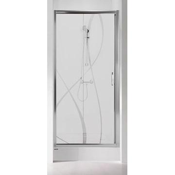 Drzwi prysznicowe D2/TX5 90 cm