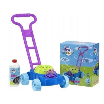 NOWA! Fru Blu kosiarka na bańki+płyn TM Toys
