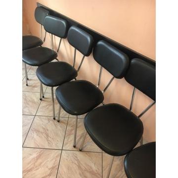Fotele fryzjerskie i krzesla