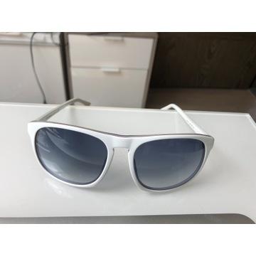 Białe okulary Emporio Armani