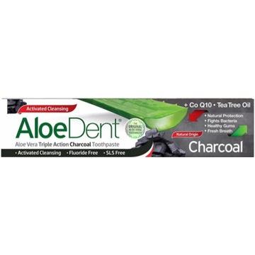 AloeDent Charcoal - pasta do zębów