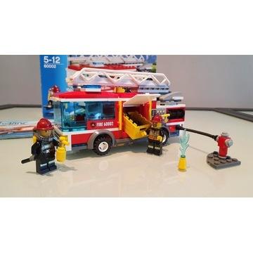 Lego City 60002 - Wóz strażacki