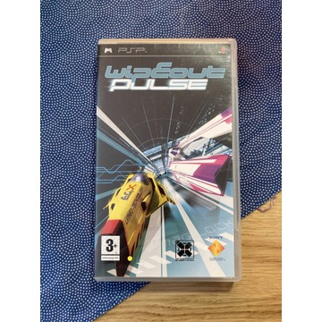 Wipeout Pulse PSP komplet