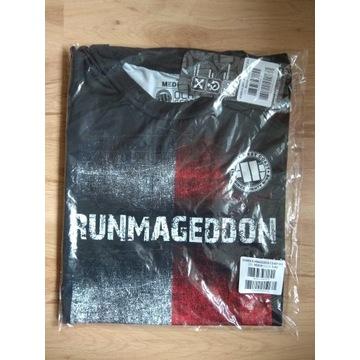 Runmageddon koszulka t-shirt sportowy flaga damski