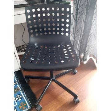 IKEA SKALBERG Krzesło obrotowe czarny