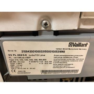 Kocioł Vaillant turboTEC plus VC 202/3-5