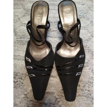 Eleganckie buty na niskiej szpilce rozmiar 37
